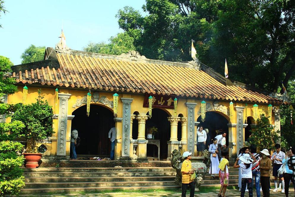 Kiến trúc chùa rất đặc sắc