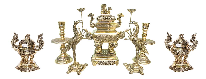 Đồ thờ cúng bằng đồng đại bái chính hãng mua ở đâu ? giá bán bao nhiêu tiền ?