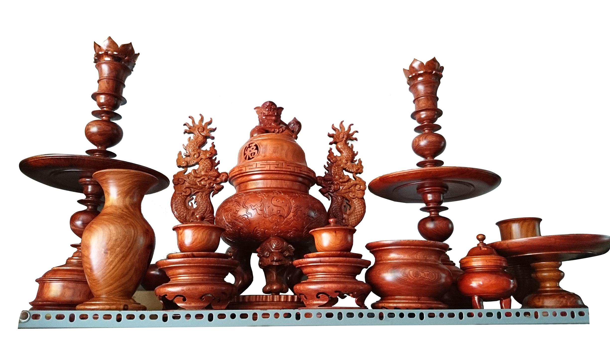 Đồ thờ cúng bằng gỗ cao cấp mua ở đâu ? giá bán bao nhiêu tiền tại tphcm ?