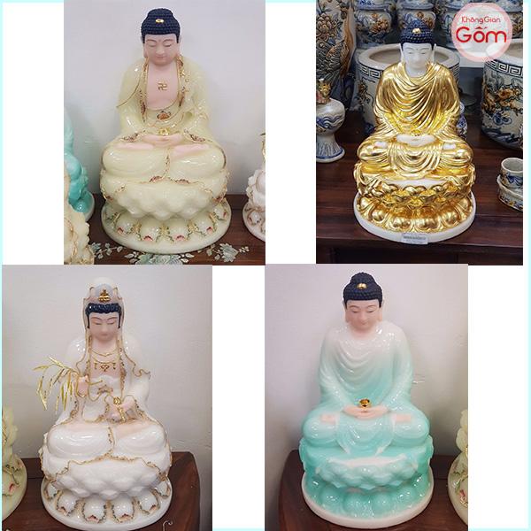 Một số mẫu tượng khác tại cửa hàng Không Gian Gốm