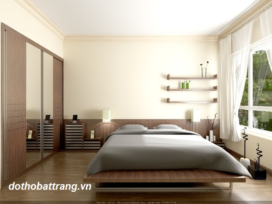 Phong thủy phòng ngủ mệnh kim - Người mệnh kim nên bày trí phòng ngủ