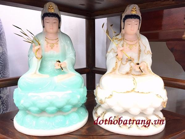 Mẫu tượng Phật Quan Âm tại địa chỉ 21 Cộng Hòa, phường 4, quận Tân Bình