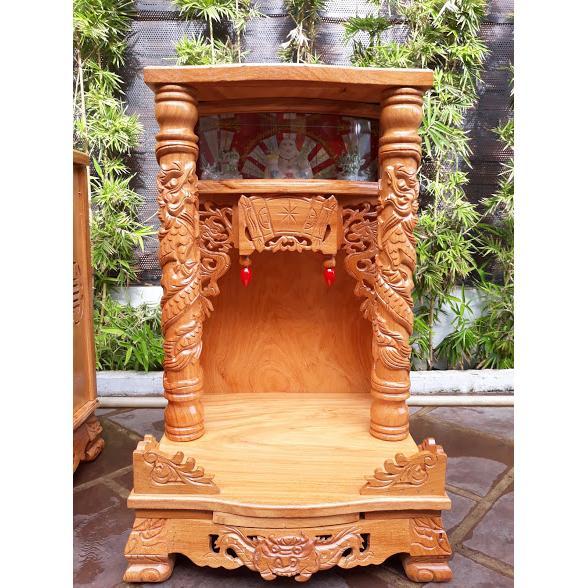 Bàn thờ ông địa gỗ xá xị mua ở đâu? giá bán bao nhiêu tiền tại Thủ Đức