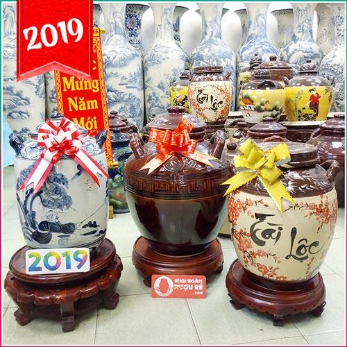 Bình ngâm rượu Bát Tràng - sản phẩm vừa sử dụng vừa trưng bày