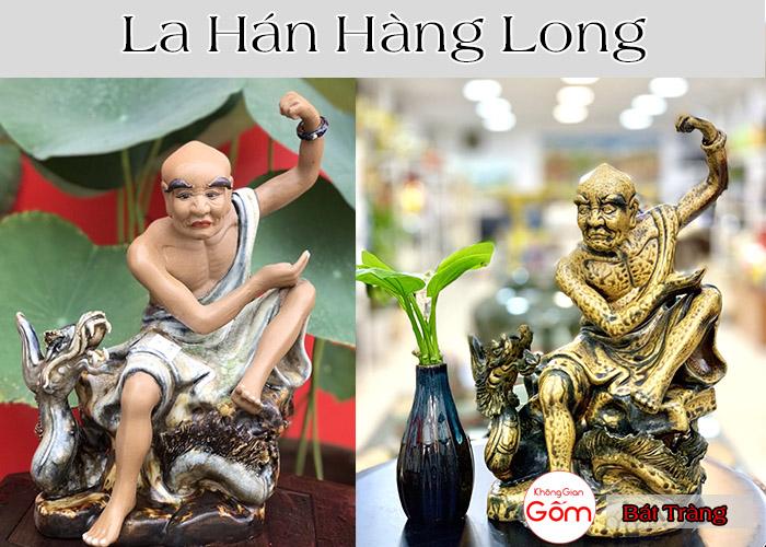 TƯỢNG LA HÁN HOÀNG LONG - Bộ tượng la hán phù hợp cho người tuổi mùi
