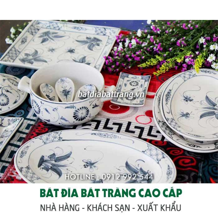 Bát đĩa nhựa Melamine mua ở đâu? Giá bán bao nhiêu tiền tại Hà Nội?