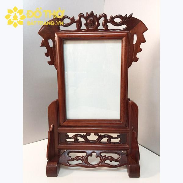 Cách lựa chọn khung ảnh thờ phù hợp cho bàn thờ gia tiên